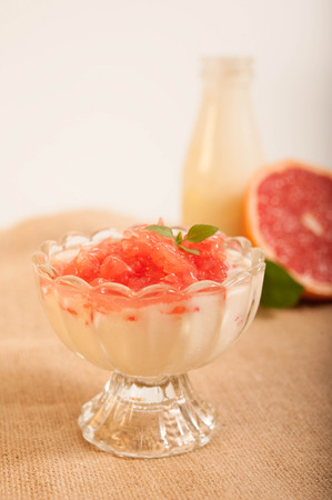 grapefruit yogurt
