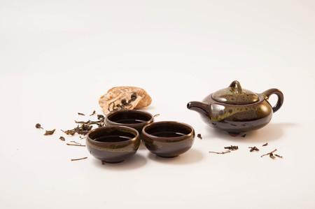 Chinese Tea pot and tea cup