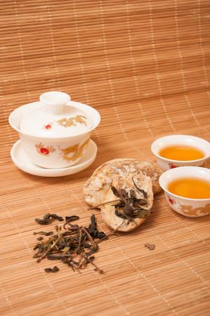 chinese tea pot: Chinese Tea pot and tea cup