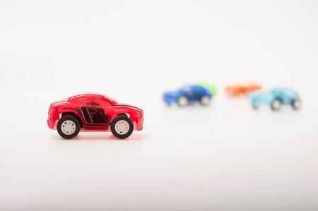 inocent: toy cars Stock Photo