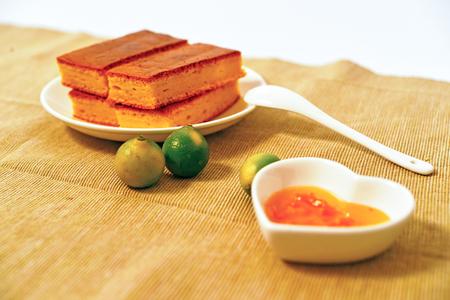 jams: cake & jams Stock Photo
