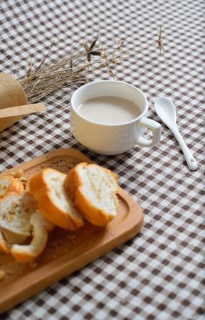 coffeetime: break and beverage Stock Photo