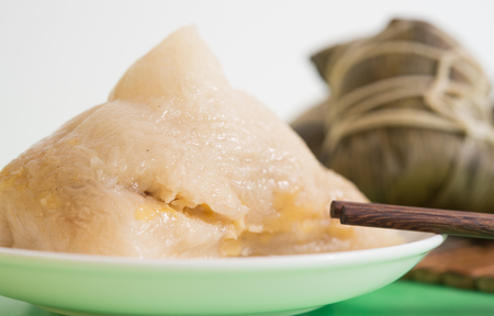 dragonboat: Rice Dumplings are a kind of traditional food in China