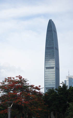 KingKey Financial Center is the highest building in Shenzhen