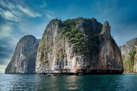 Phi-phi island in Krabi, Thailand