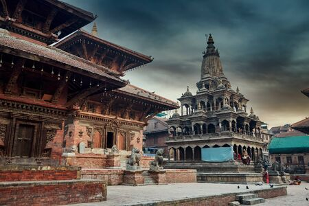 Patan Durbar Square in Katmandu, Nepal