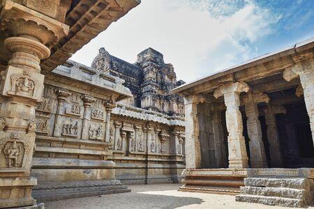 Temple in Hampi, Karnataka, India.