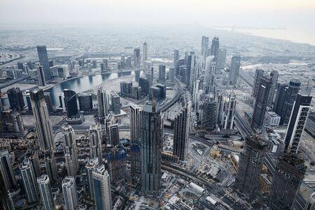 At the top of Burj Khalifa.