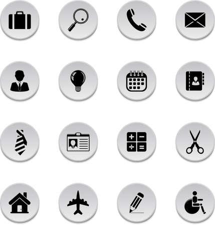 Vector set of business icons. Stock fotó - 150586310