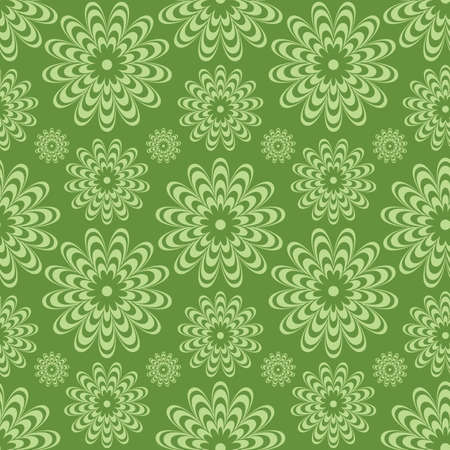 Vector seamless background with floral elements.