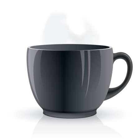 Vector isolated cup of tea. Ilustração