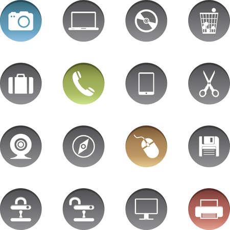 Vector set of internet icons. Stock fotó - 150611766
