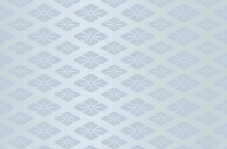 Japanese traditional flower pattern vector background blue 일러스트