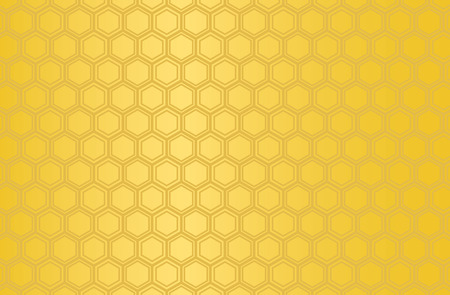 Japanese traditional  hexagonal geometric pattern vector background gold