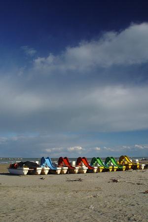 Paesaggio della costa adriatica Archivio Fotografico - 88936289