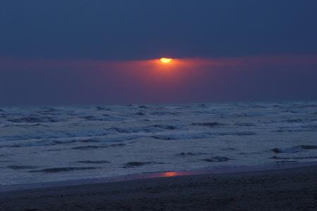 Alba al mare Adriatico Archivio Fotografico - 88936298
