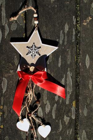 Dolce decorazione natalizia Archivio Fotografico - 90266650