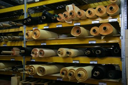 Dettaglio della fabbrica di altoparlanti Archivio Fotografico - 91284930