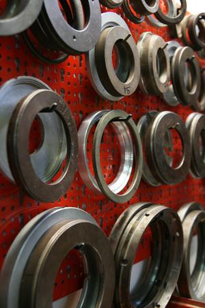 Dettaglio della fabbrica di altoparlanti Archivio Fotografico - 91266634