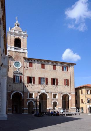 Senigallia - Italy - town hall building Banco de Imagens
