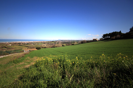 panorama from Senigallia's hills - Italy