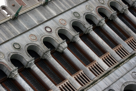 detail of building in Venice - Italy
