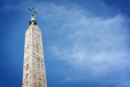 obelisk: The obelisk in Rome
