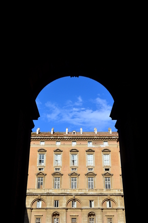 residence: The old residence of Casera, Italy Stock Photo