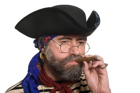 ransack: Bearded pirate with a cigar.