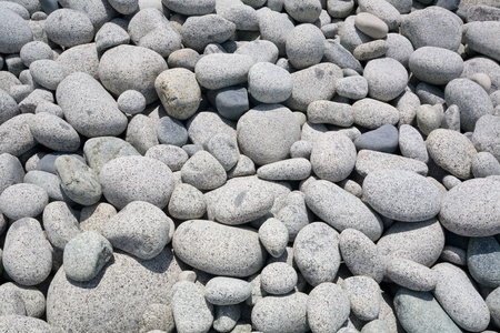 Large granite pebble of sea coast. photo
