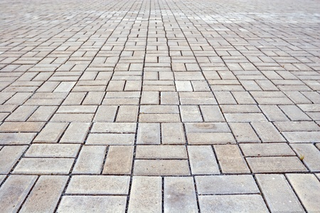 Paving blocks.