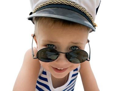 Sea cadet.Cap.Sunglasses photo