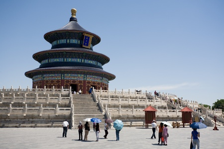 Temple of Heaven. Beijing. China. June, 2009. photo