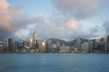 Hong Kong in the evening sun. September 2011. Stock Photo - 11720625
