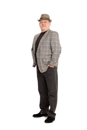Portrait of a respectable man in full view. Stock Photo - 11720605