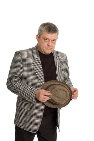 Stylish self confident man aged. Stock Photo - 11720650