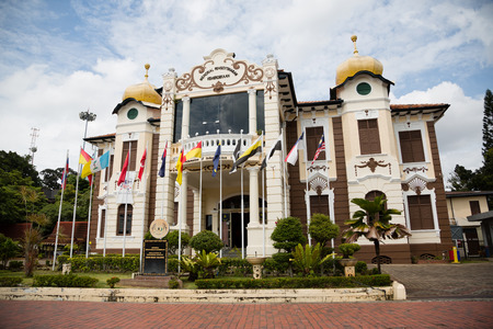 proclamation: MALACCA, MALAYSIA - CIRCA JANUARY, 2015: The Proclamation of Independence Memorial is a museum in Malacca City. Malacca was included in the list of UNESCO World Heritage Sites in 2008.