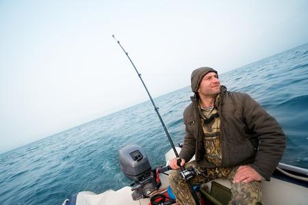 ловим лосося в море