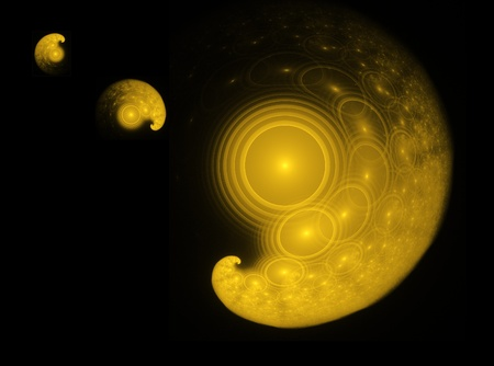 planetary: Virtual planetary system created with fractals