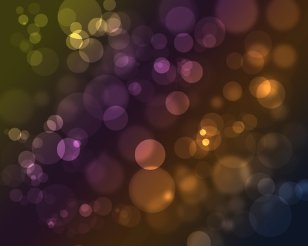 bokeh lights photo