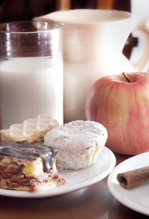 healthy breakfast served at the table Stock Photo - 8973462