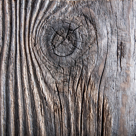 dingy: old cracked wooden surface in close up