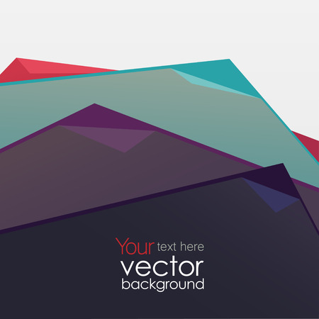vector background, abstract triangles