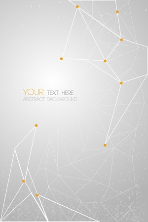 vector geometric polygon background Ilustração