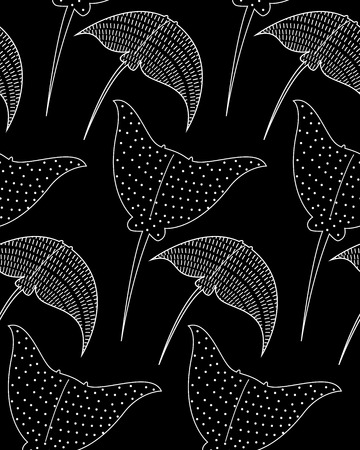 cramp: vector background with slopes. Seamless pattern Illustration