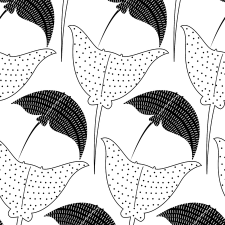 slopes: vector background with slopes. Seamless pattern Illustration