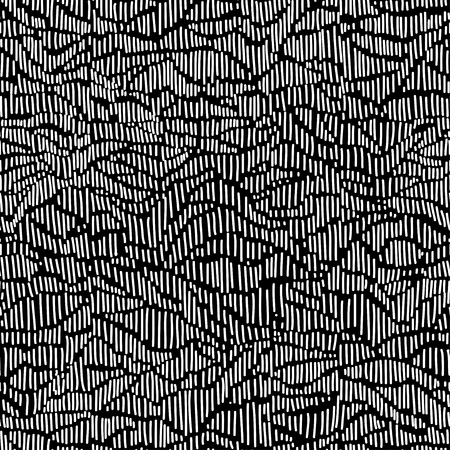 white tile: vector seamless pattern witch sketch texture