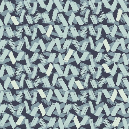 Vector seamless pattern with short lines. Hand drawn brush texture