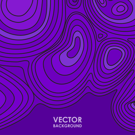 pick light: Abstract vector violet background with line waves. EPS 10 vector illustration
