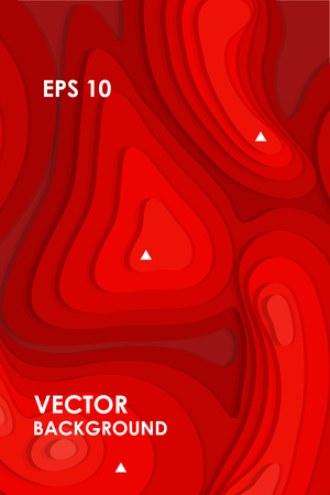 Abstract vector red background. EPS 10 vector illustration